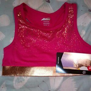 Girl's sports bra